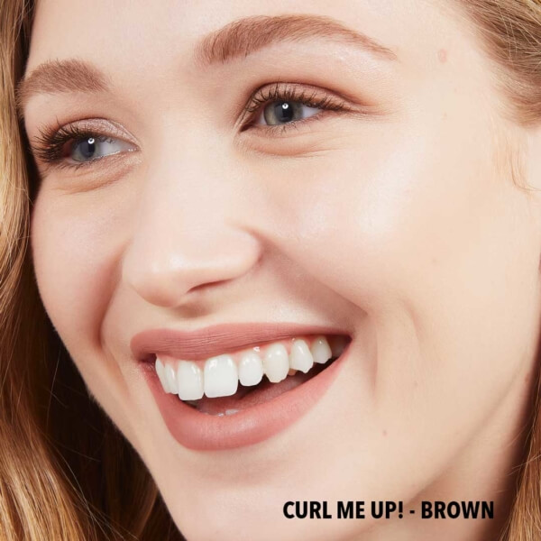 Curl Me Up! Brown Full Face