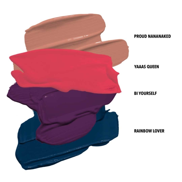 Pride Ll Swatches